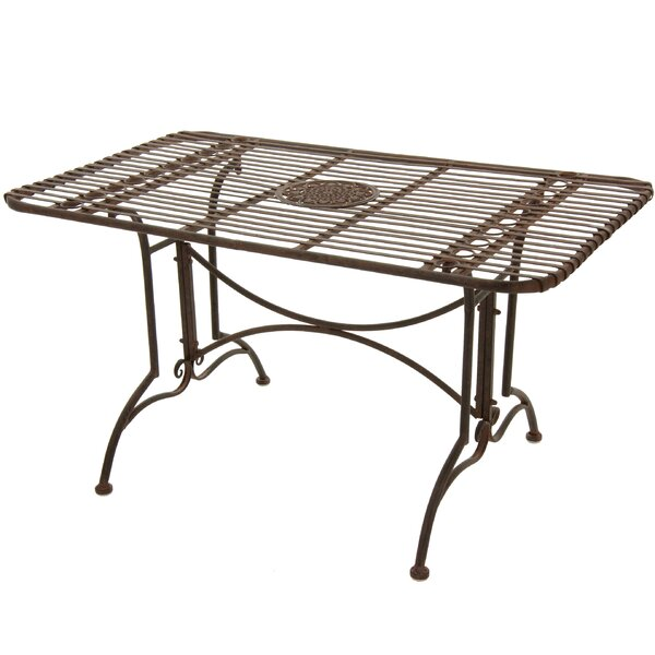 Bohl Metal Dining Table by Fleur De Lis Living