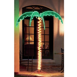 Canova Large Palm Tree 5 ft. Rope Light