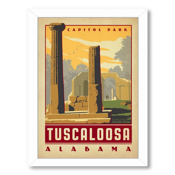 Tuscaloosa Framed Vintage Advertisement by East Urban Home