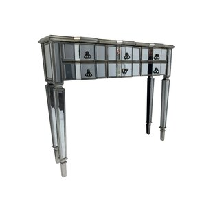 Everett Mirrored Console Table