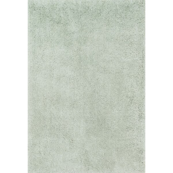 Chontos Hand-Tufted Mist Area Rug by Latitude Run