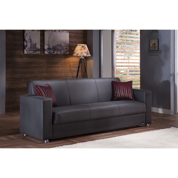 Weekend Promotions Jaxson Convertible Sofa by Ebern Designs by Ebern Designs