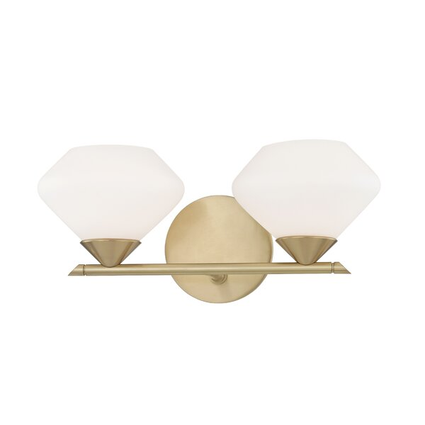 Humes 2-Light Vanity Light by Wrought Studio
