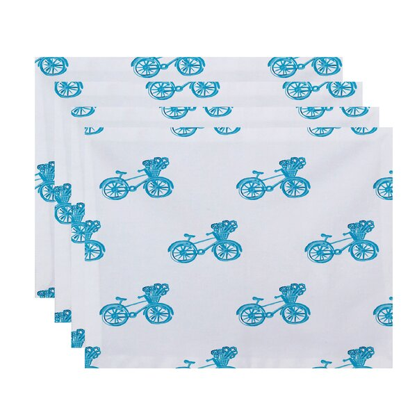 Emmanuell Geometric Placemat (Set of 4) by Ivy Bronx
