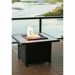 Aluminum Gas Fire Pit Table