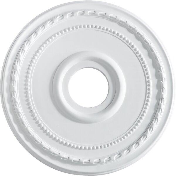 17.5 Ceiling Medallion in Studio White by Quorum