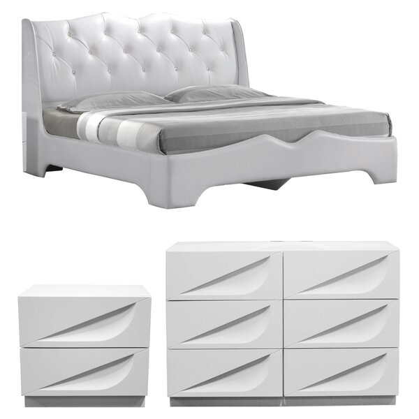 Madrid Platform Configurable Bedroom Set by BestMasterFurniture