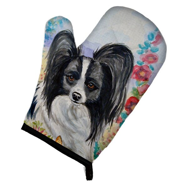 Papillon Oven Mitt by Caroline's Treasures