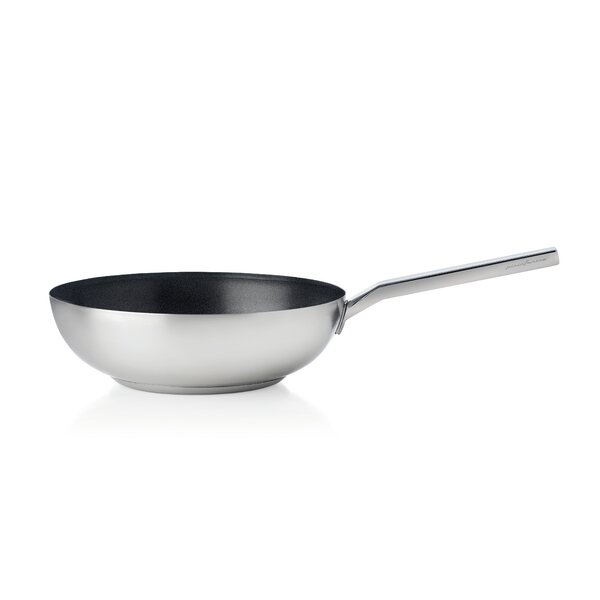11 Non-Stick Aluminum Wok with Lid by MEPRA
