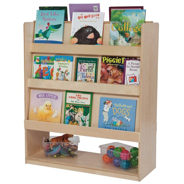 Deluxe Double Sided Book Display by Wood Designs