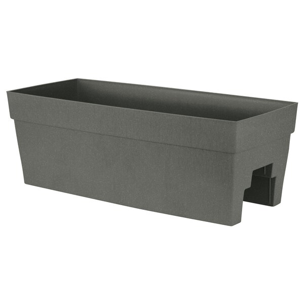Self-Watering Plastic Rail Planter by DCN Plastic