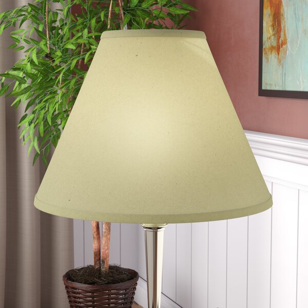 Hardback 18 Linen Empire Lamp Shade by Red Barrel Studio
