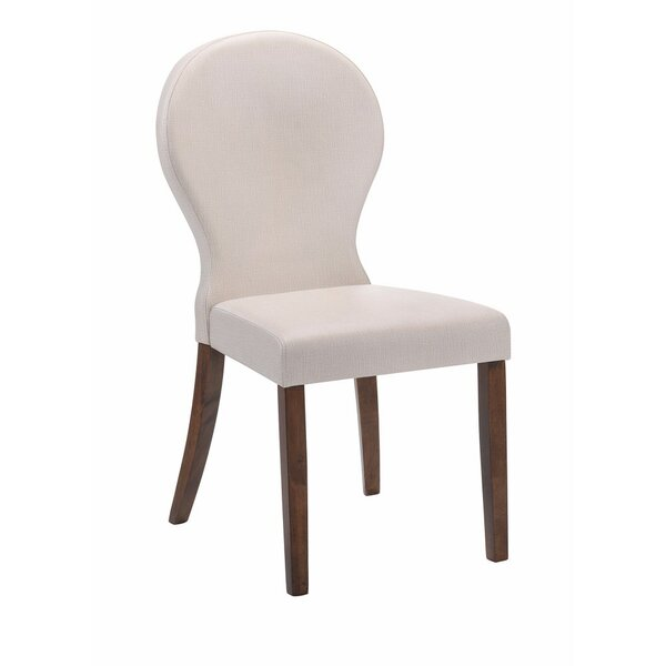 Elsje Upholstered Dining Chair (Set of 2) by Highland Dunes