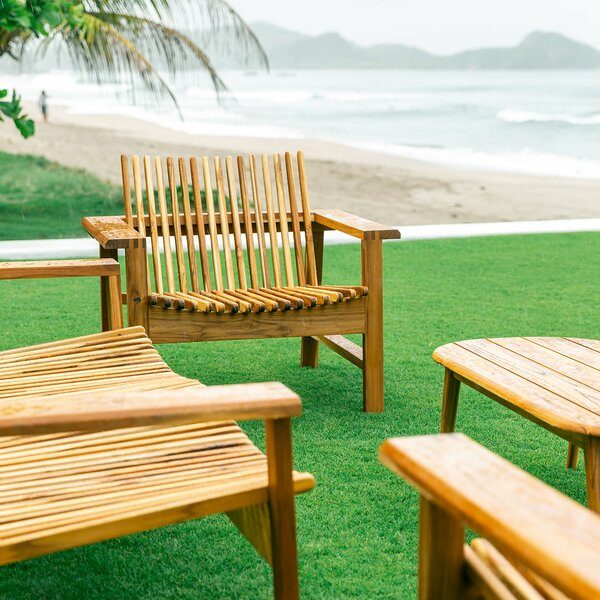 Verbena Teak Patio Chair by Masaya & Co
