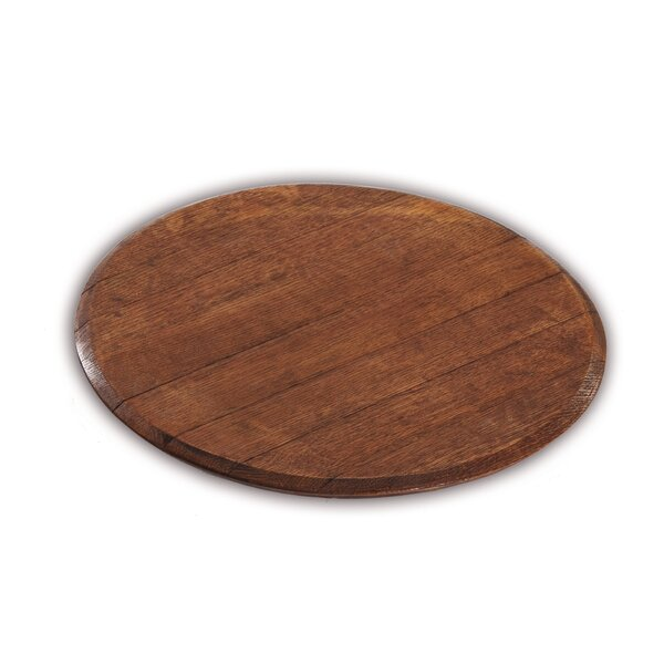 Woodrick Wine Barrel Lazy Susan by Loon Peak