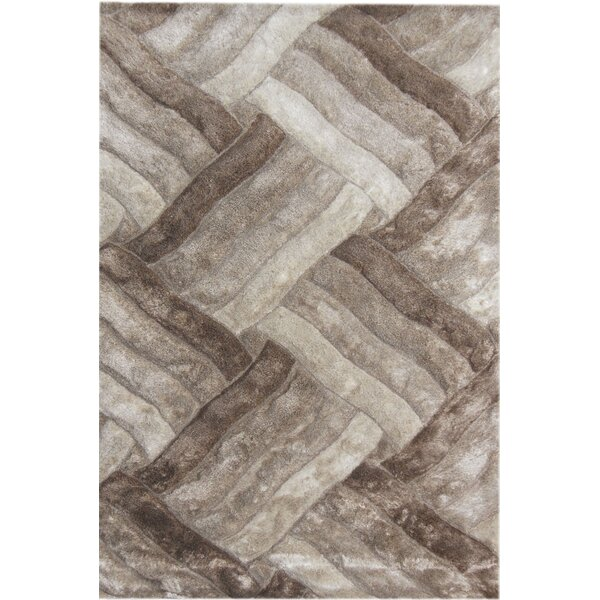 Glam Ivory Area Rug by YumanMod
