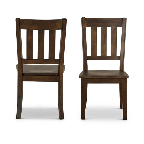 Losoya Solid Wood Dining Chair (Set of 2) by Gracie Oaks