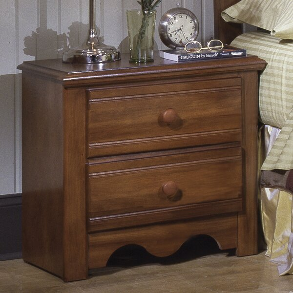Totten 2 Drawer Nightstand by August Grove