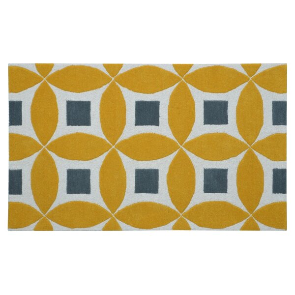 Henley Hand-Tufted Gold/Gray Area Rug by Eastern Weavers