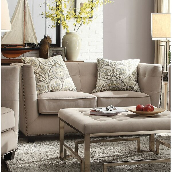 Find Popular Owen Loveseat by Canora Grey by Canora Grey