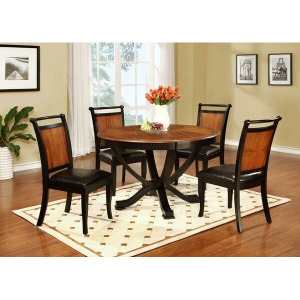 Pierz 5 Piece Dining Set by August Grove