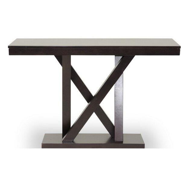 Orren Ellis Brown Console Tables