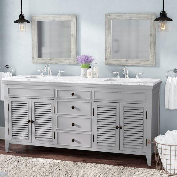 Grovetown 72 Double Bathroom Vanity Set by Laurel Foundry Modern Farmhouse