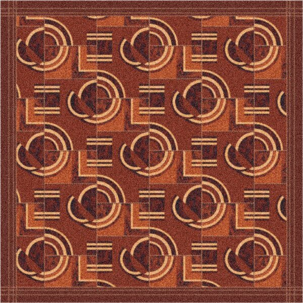 Pastiche Modernes Rusted Earth Area Rug by Milliken