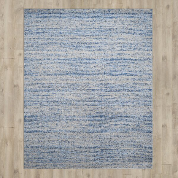 Millbrae Blue/Silver Area Rug by Trent Austin Design