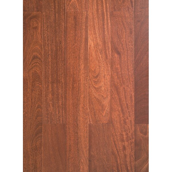 5 Myra Engineered Teak Hardwood Flooring in Cappuccino by Welles Hardwood