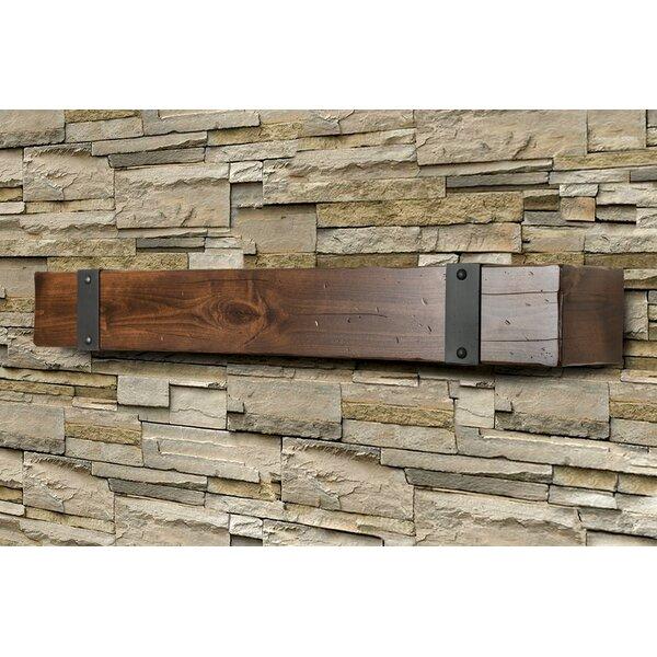Lodge Fireplace Shelf Mantel By Ornamental Designs