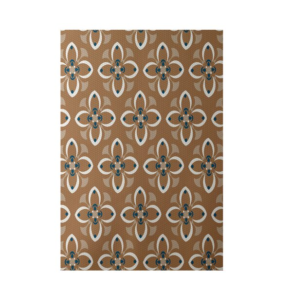 Brown Indoor/Outdoor Area Rug by e by design