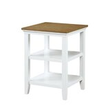 Morphew End Table with Storage by Red Barrel Studio®