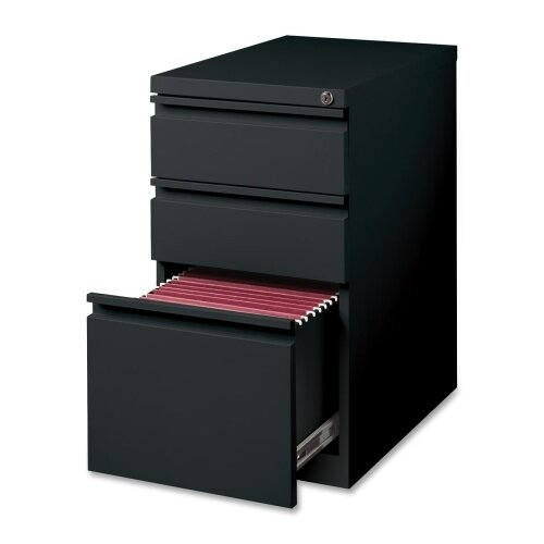 15 W x 22.9 D 3-Drawer Mobile Pedestal File by Lorell