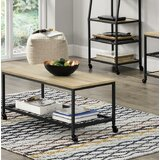 Justis Coffee Table with Storage by Williston Forge