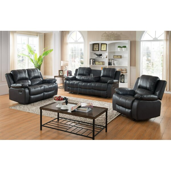 Ugalde 3 Piece Living Room Set by Red Barrel Studio