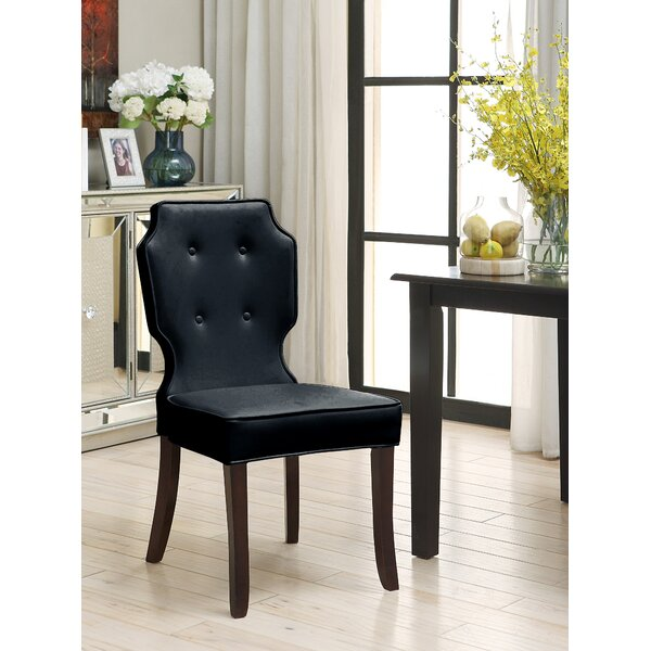 Blumefield Upholstered Dining Chair (Set of 2) by Rosdorf Park