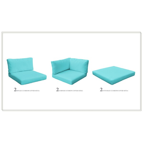 Monaco 12 Piece Outdoor Cushion Set by TK Classics TK Classics