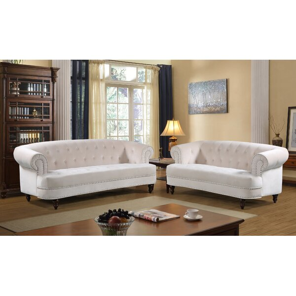Lambdin 2 Piece Living Room Set by Mercer41