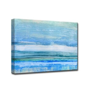 'Eastern Shores' by Norman Wyatt Jr. Framed Painting Print by Ready2hangart