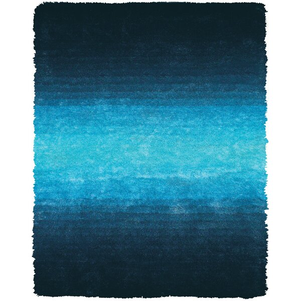 Sapienza Light Blue Area Rug by Wrought Studio