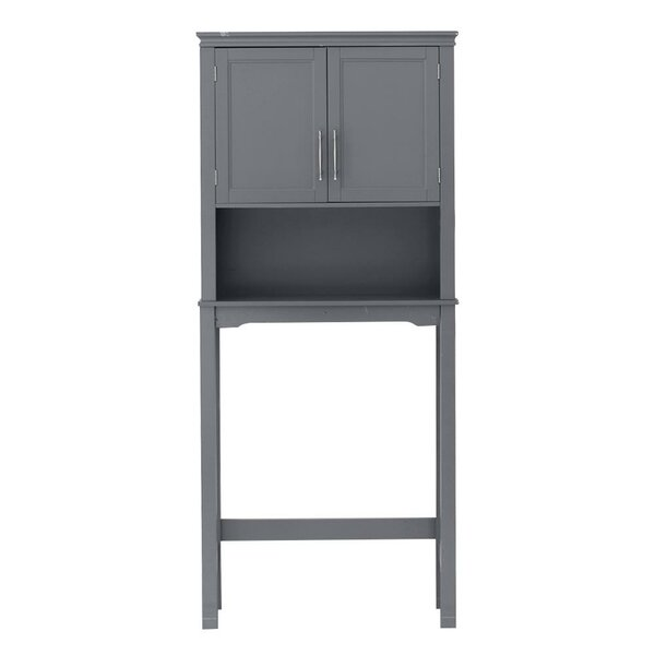 Redner 28'' W x 65'' H x 8'' D Over-the-Toilet Storage