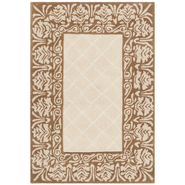 Caine Hand Tufted Ivory Area Rug by Darby Home Co