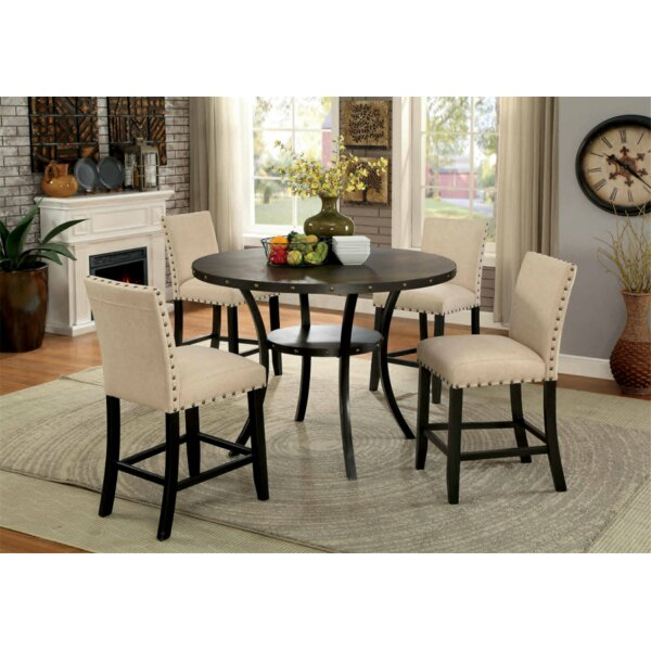Rigby 3 Piece Counter Height Dining Set by Alcott Hill