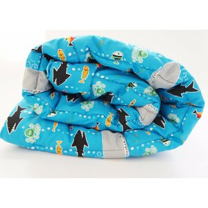 Ocean Life Toddler Comforter