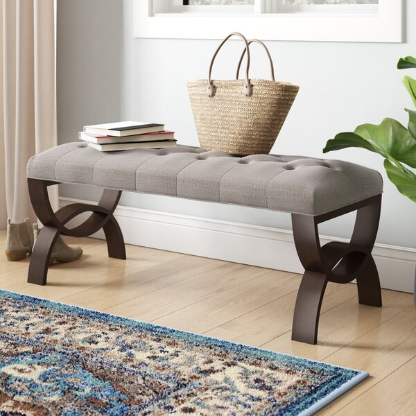 Yale Wood Bench by Three Posts