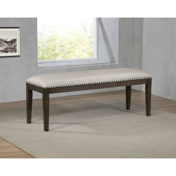 Seaver Upholstered Bench by Gracie Oaks