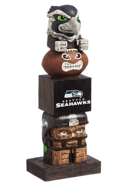 NFL Tiki Totem Statue by Evergreen Enterprises, Inc