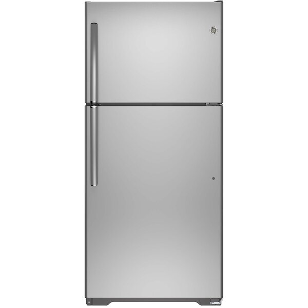 18.2 cu. ft. Energy Star® Top-Freezer Refrigerator by GE Appliances18.2 cu. ft. Energy Star® Top-Freezer Refrigerator by GE Appliances