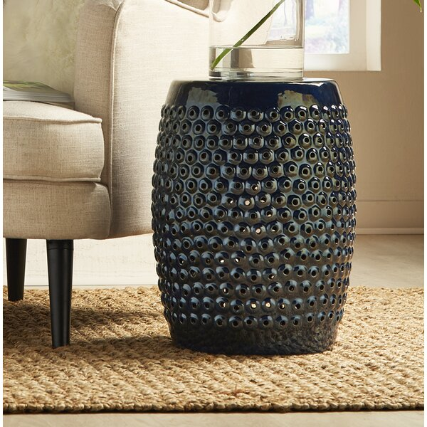 Fred Cutwork Garden Stool by Highland Dunes